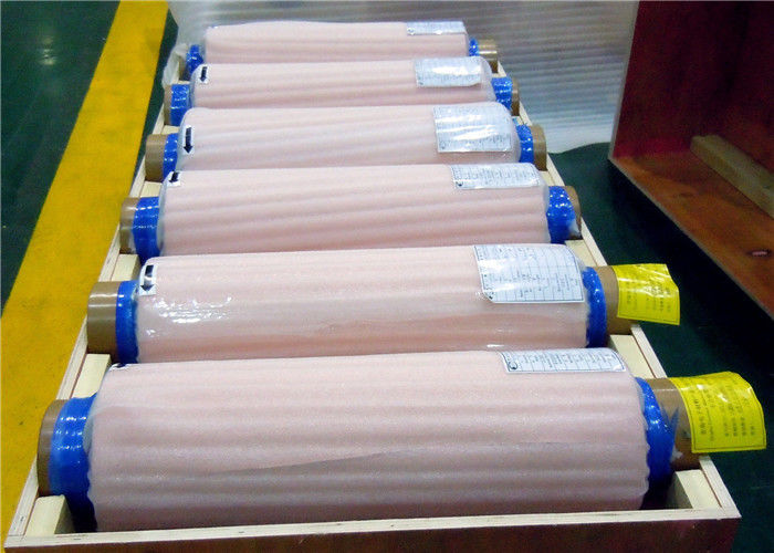 Double Shiny Side Red 7um Thin ED Copper Roll for lithium battery