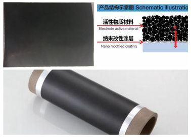 Carbon Coated Capacitor Foil For Lithium Ion Super Capacitor 100 - 8000 Meter Long