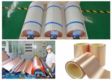 Black Electrolytic Copper Foil , ISO High Tensile Strength PCB Foil Copper