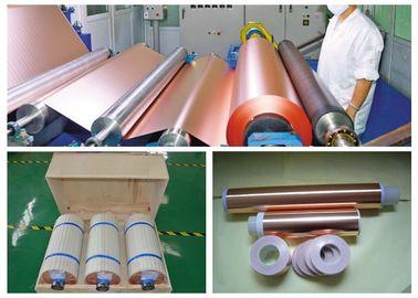 6 Mic LB Double Shiny ED Copper Foil , RoHS / SGS Approval Pure Copper Foil