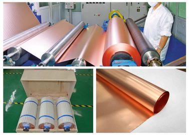 18 Mic Black Electrolytic Copper Foil Low Profile Good Folding Endurance