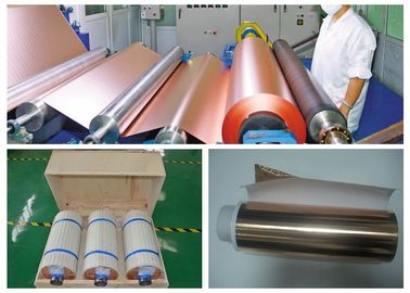 High Elongation PCB Copper Foil Single Side Gray Treated 0.105mm Thickness
