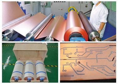 0.035mm Low Profile PCB Copper Foil For Flexible Copper Clad Laminate
