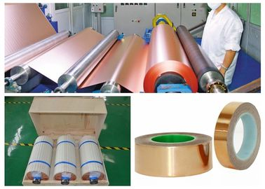 China ​Width 1380mm Conductive Copper Foil For FCCL High Temperature Resistance factory