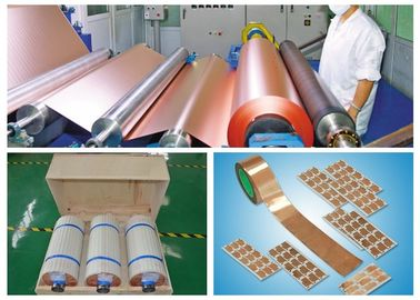 China Conductive Thin Copper Foil High Conductivity 99.8% Cu Content Purity factory