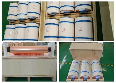High Elongation HTE Rolled Annealed Copper Foil 0.035mm High Thermal Endurance