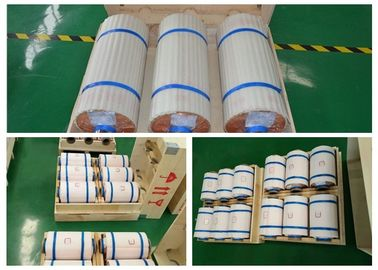 Low Profile 17um Copper Thin Sheet , 76 Mm / 152 Mm ID Copper Sheet Roll