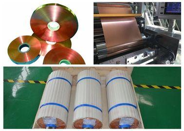 Transformer Soft Copper Foil Strip Excellent Soft Soldering Good Laser Welding