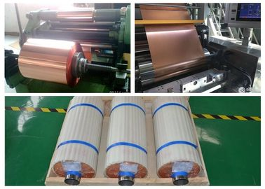 5 - 610mm Width Soft Copper Sheet , High Purity Rolled Annealed Copper Foil