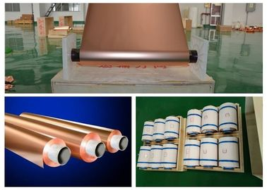 China STD Standard Shielding Adhesive Copper Foil For Phenolic Resin Board factory