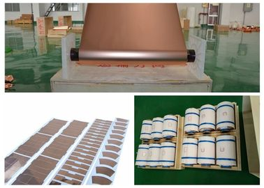 China RoHS Shielding Copper Sheet Coil , 99.8% High Purity Rolled Copper Foil factory