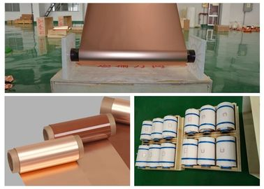 Electrodeposited Copper Shielding Foil High Peel Strength 2 Oz Thickness