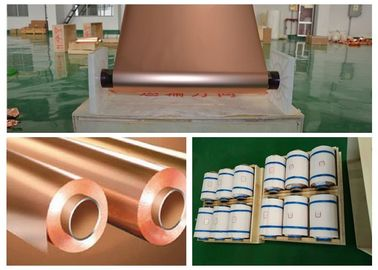 30 Micron Thickness Copper Shielding Foil 99.95% Purity Good Etch Ability