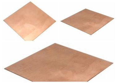 0.035mm Rolled Copper Metal Sheets , 99.95% Purity FCCL Copper Thin Sheet