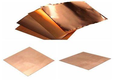 1.4 Mil Copper Foil Sheet For Transformer / Water Heater 10 - 1000 Mm Width