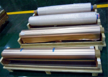 1290mm Width Copper Foil Shielding 105um Thickness 76mm Coil For MRI Rooms