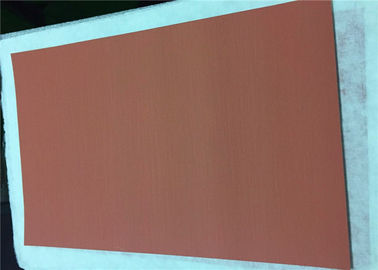 1100mm Electrolytic Copper Sheet Metal Roll 18um Thickness Min 2 % Elongation