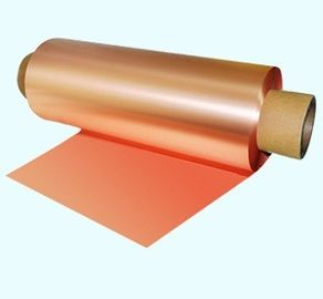 Double Side Polish Electrolytic Copper Foil For Li-Ion Battery Thickness 8um