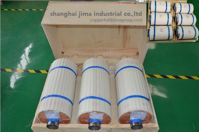 GOOD RA double shiny Roll copper foil For lithium-ion batteries of power energy