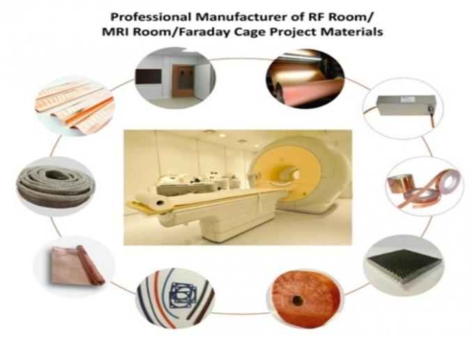 0.01mm Thickness Copper Foil Shielding For Modern MRI Rooms IPC - 456 Standard