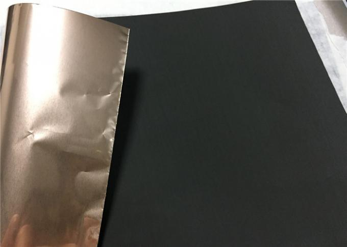 Black Low Profile Electrolytic Copper Foil 105um 70um 50um 35um 25um 12um 9um